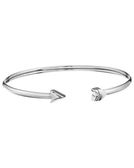 Fossil | Metallic Arrow Flex Cuff Bracelet | Lyst