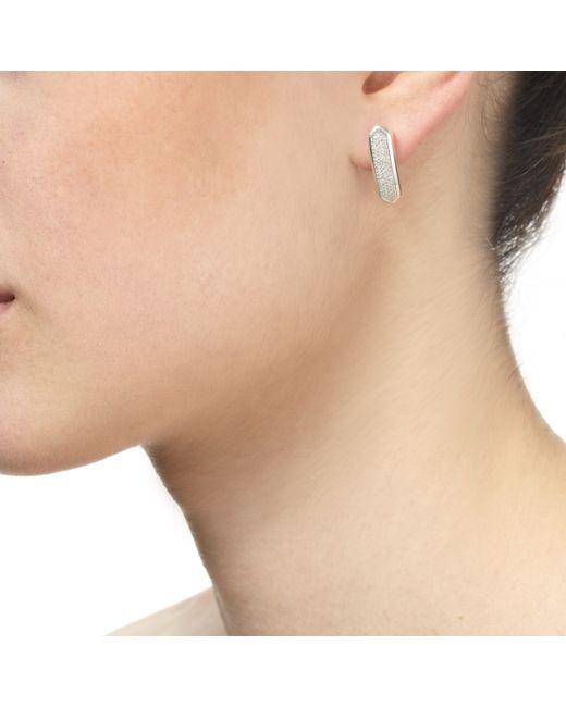 Monica Vinader | Metallic Baja Long Stud Earrings | Lyst
