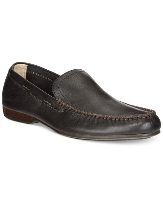Frye | Black Men's Lewis Venetian Loafers for Men | Lyst
