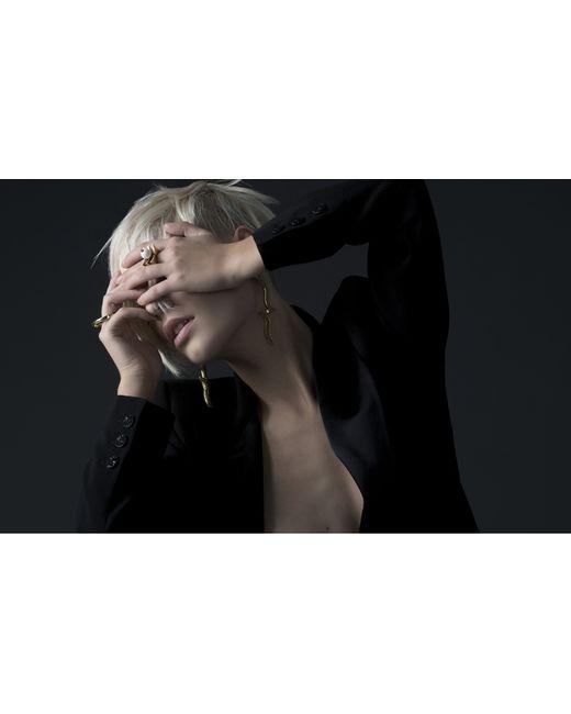 Yael Salomon | Metallic Greta 01 Gold And Turquoise Ring | Lyst