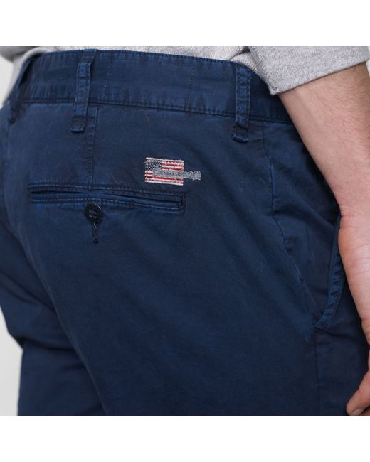 Denim & Supply Ralph Lauren | Blue Super-slim Officer's Chino for Men | Lyst