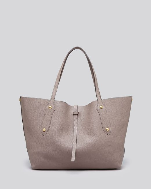 Annabel Ingall   Gray Isabella Small Leather Tote   Lyst
