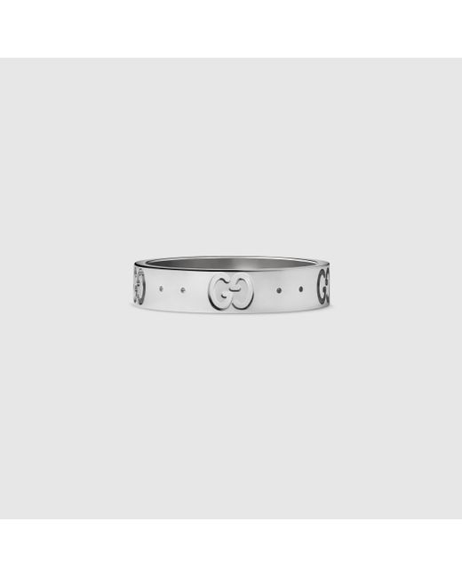 Gucci | White Icon Thin Band | Lyst
