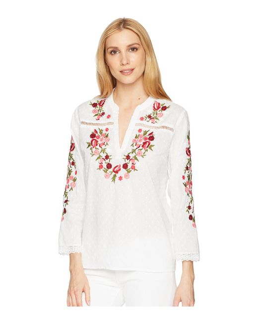 Kut From The Kloth - White Kat Blouse - Lyst