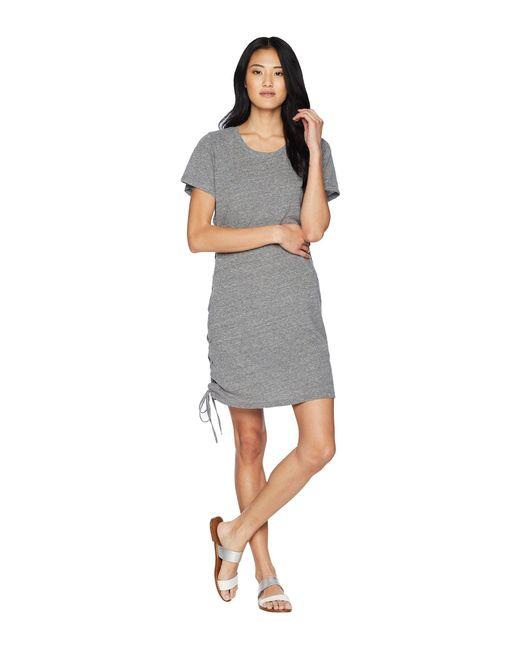 LNA - Gray Josie Tri-blend Dress - Lyst