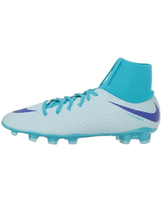 750b010058 ... Nike - Blue Hypervenom Phantom 3 Academy Dynamic Fit Fg for Men - Lyst  ...
