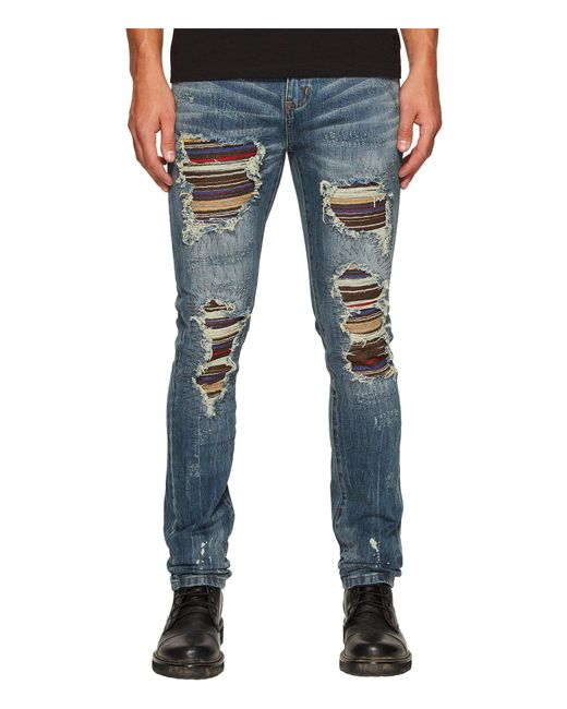 Soto stripe panel distressed jeans - Blue Gods Masterful Children Free Shipping Browse Clearance New Buy Cheap Release Dates Best Prices Online 2018 New Online 2MC9ef