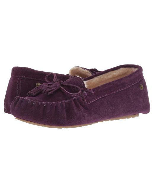 BEARPAW - Purple Rosalina (pewter Distressed) Women's Shoes - Lyst