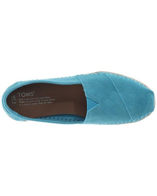 516cefc02a1 ... TOMS - Blue Seasonal Classics - Lyst ...