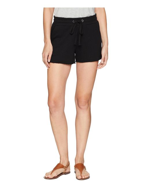 Sanctuary - Black French Terry Shorts - Lyst