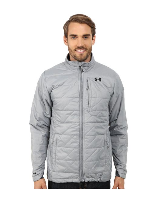 Under Armour - Gray Ua Cgi Micro Jacket for Men - Lyst