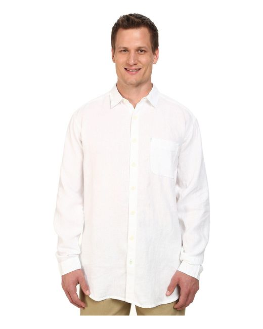 Tommy Bahama   White Big & Tall New L/s Seaglass Breezer for Men   Lyst