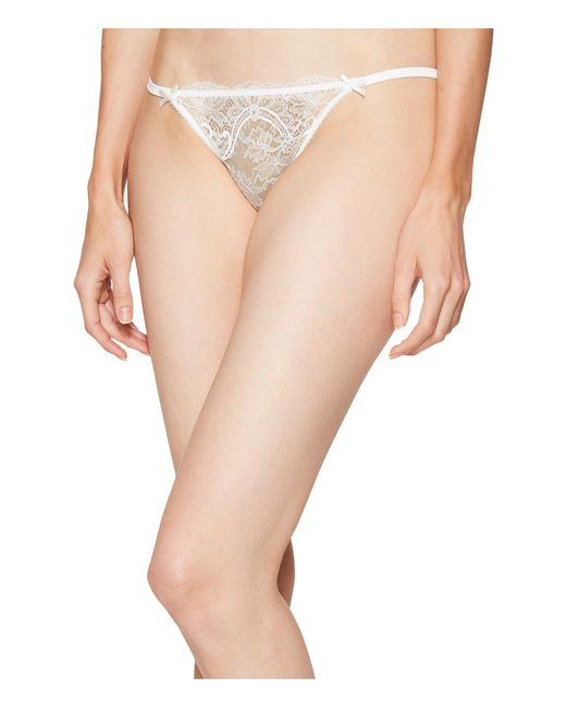 L'Agent by Agent Provocateur - Natural Madalene Thong - Lyst