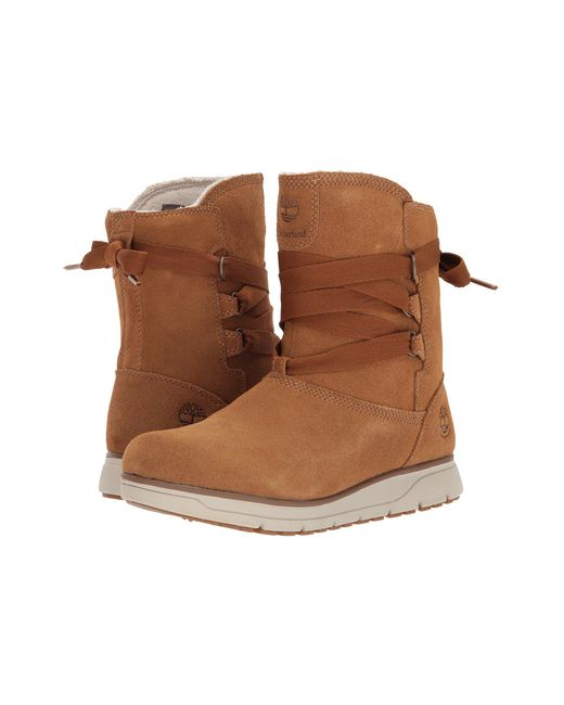 Timberland - Brown Leighland Pull-on Waterproof Boot - Lyst