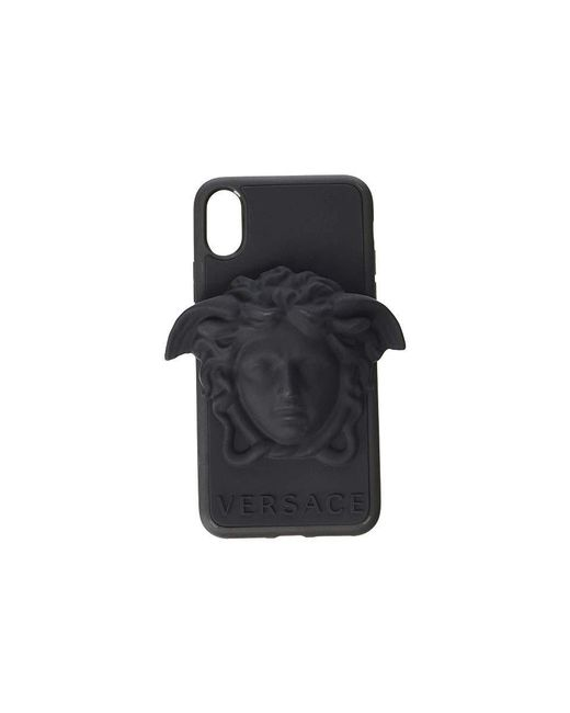 Versace - Medusa Phone Cover Iphone(r) 8+ (black) Cell Phone Case - Lyst