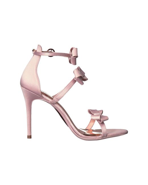 309416d87099 Lyst - Ted Baker Nuscala Stiletto Sandal in Pink - Save 38%
