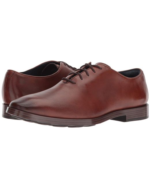 Cole Haan - Brown Jefferson Grand Wholecut Ox for Men - Lyst