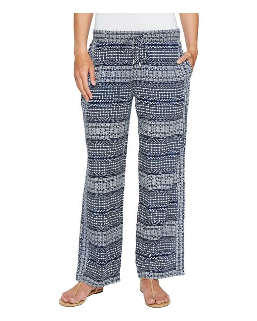 Tommy Bahama - Blue Greek Grid Pants - Lyst