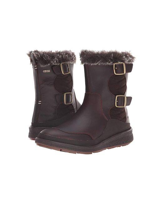 57687903ed1 Merrell - Brown Tremblant Ezra Zip Waterproof Ice+ (espresso) Waterproof  Boots - Lyst ...