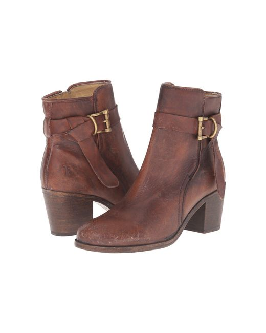 Frye - Brown Malorie Knotted Short - Lyst