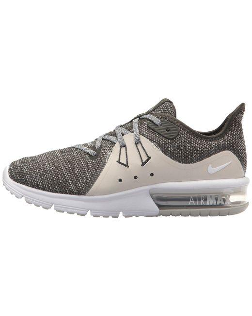 8b1fd88275e Lyst - Nike Air Max Sequent 3 in Metallic - Save 33%