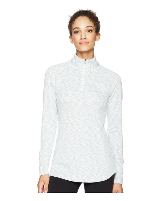 Columbia - White Outerspaced Iii Half Zip Top - Lyst