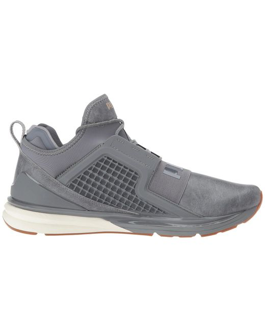 958a358d6967 Lyst - PUMA Ignite Limitless Leather in Gray for Men - Save 2%