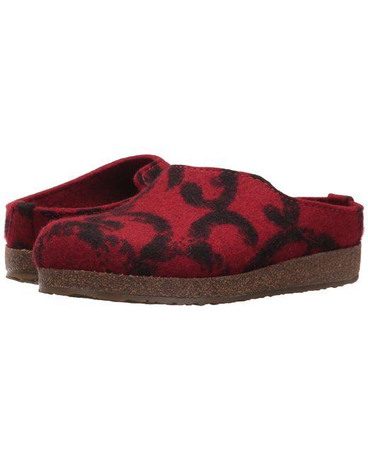 Haflinger - Red Fashion - Lyst