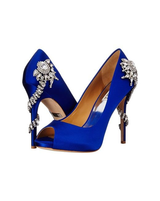 Badgley Mischka - Blue Royal - Lyst