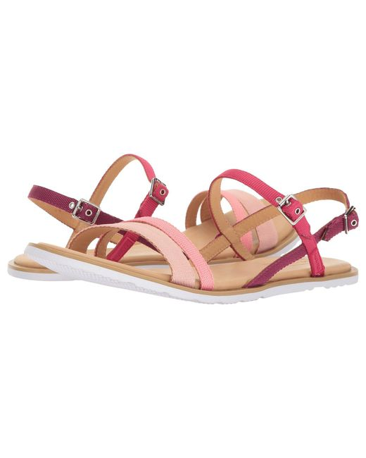 Hunter - Pink Original Ticker Tape Sandal - Lyst