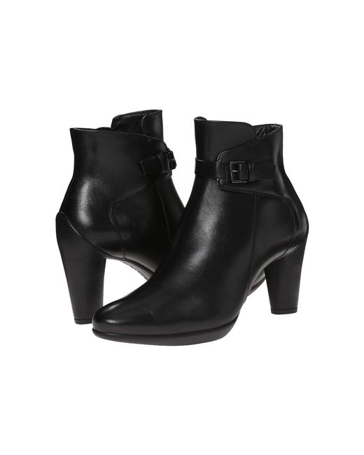 Ecco - Black Sculptured 45 Ankle Boot - Lyst