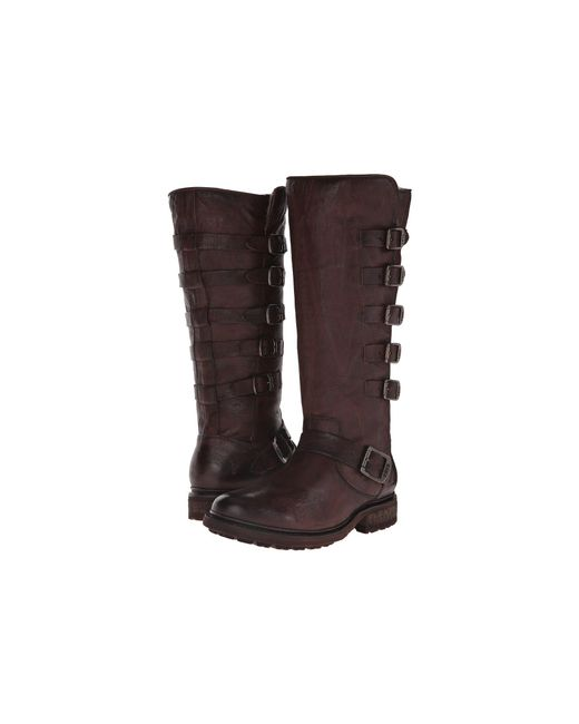 Frye - Brown Valerie Belted Tall - Lyst