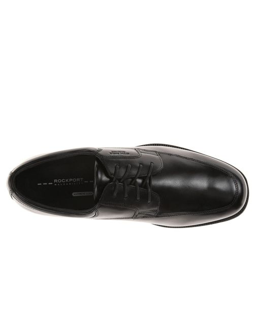 1a3b2a14710 ... Rockport - Black Lead The Pack Apron Toe for Men - Lyst ...
