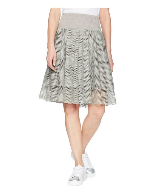 PUMA - Gray En Pointe Skirt - Lyst