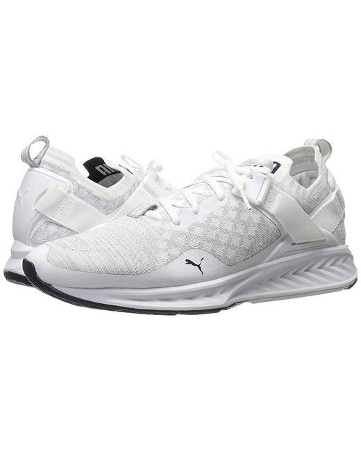 new york 04448 9e931 Women's Ignite Evoknit Lo ( White/vaporous Gray/peacoat) Running Shoes