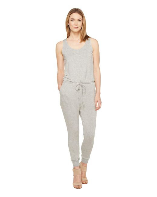 Culture Phit | Gray Madison Luxe French Terry Sleeveless Jumper | Lyst