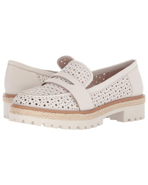Nine West - White Gradskool Nubuck Oxford Flat - Lyst