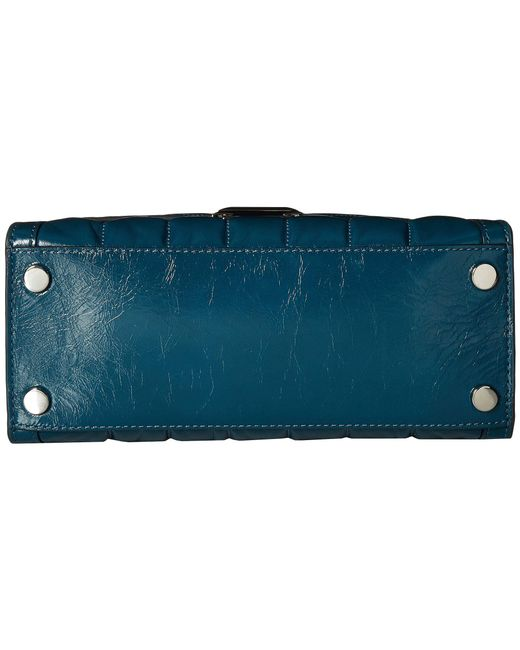 755fc02d5881 ... MICHAEL Michael Kors - Blue Whitney Medium Top-handle Satchel - Lyst ...