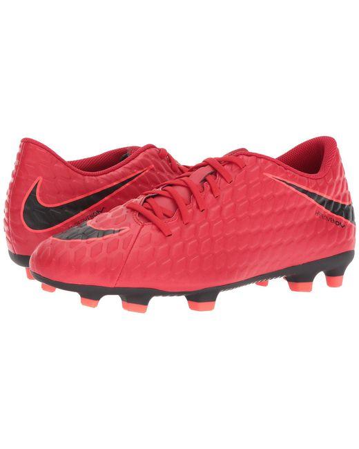 Nike - Red Hypervenom Phade Ii Fg for Men - Lyst