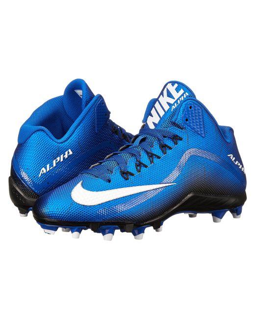 Nike - Blue Alpha Pro 2 3/4 Td for Men - Lyst
