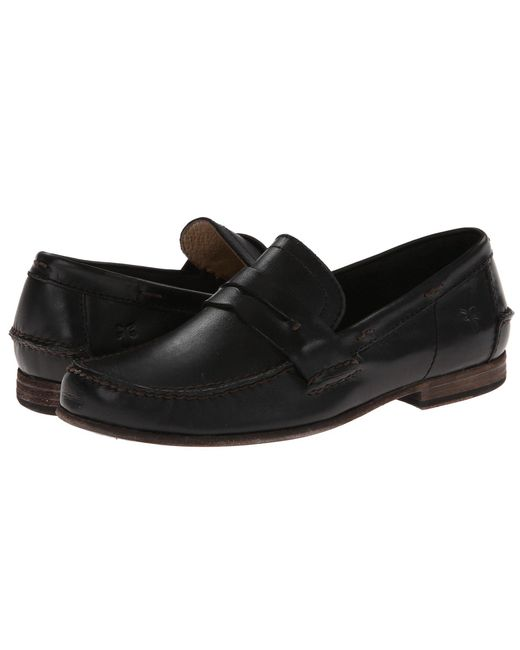 Frye - Black Lewis Leather Penny for Men - Lyst