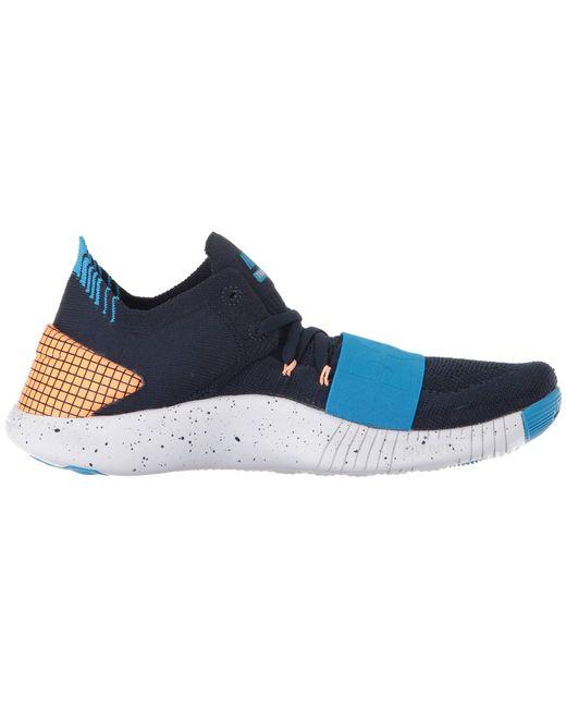 big sale e14e0 269f3 ... Nike - Blue Free Tr Flyknit 3 Neo - Lyst ...
