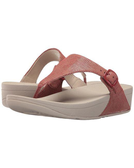 Fitflop - Multicolor The Skinny Lizard Print - Lyst