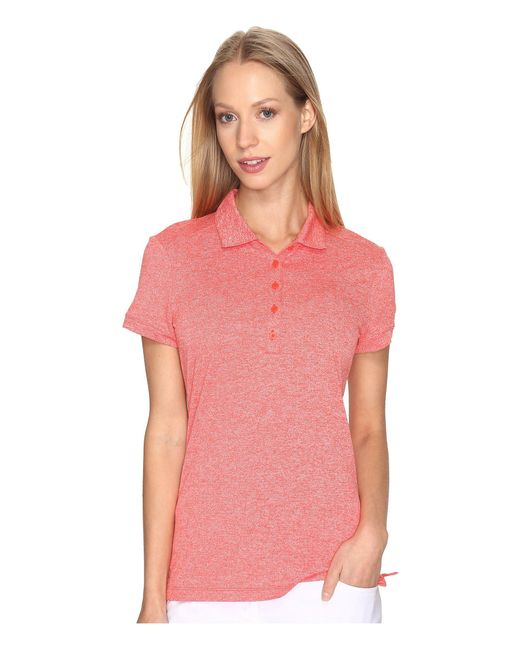 Nike - Pink Icon Heather Polo - Lyst