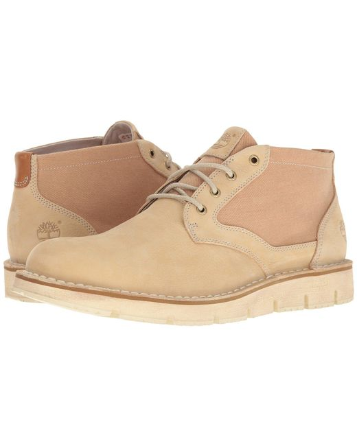 Timberland - Natural Westmore Leather Fabric Chukka for Men - Lyst