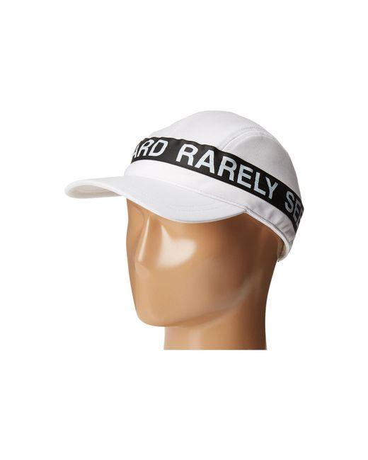 Mostly Heard Rarely Seen - White Zipper Convertible Visor Hat for Men - Lyst