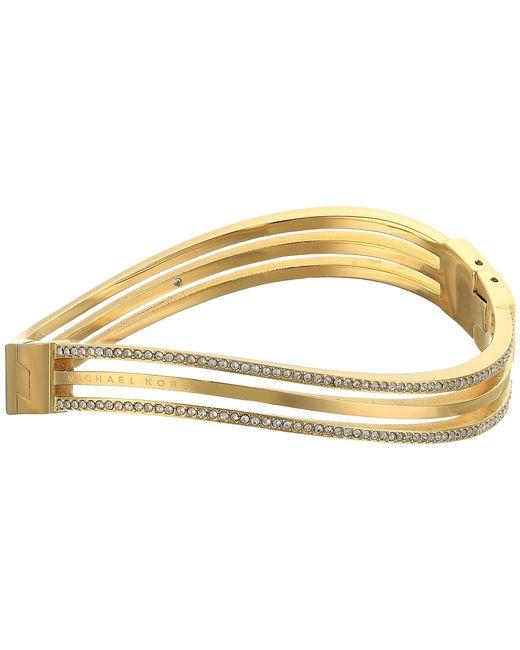 Michael Kors - Metallic Wonderlust Hinge Bracelet - Lyst