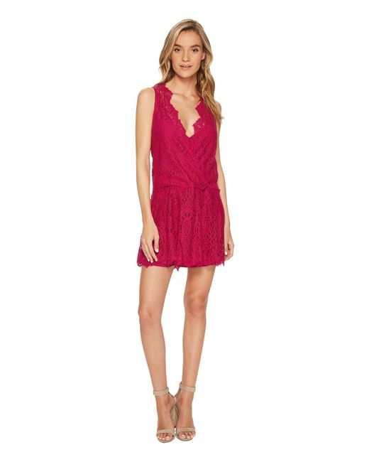 Free People - Red Heart In Two Mini Dress - Lyst