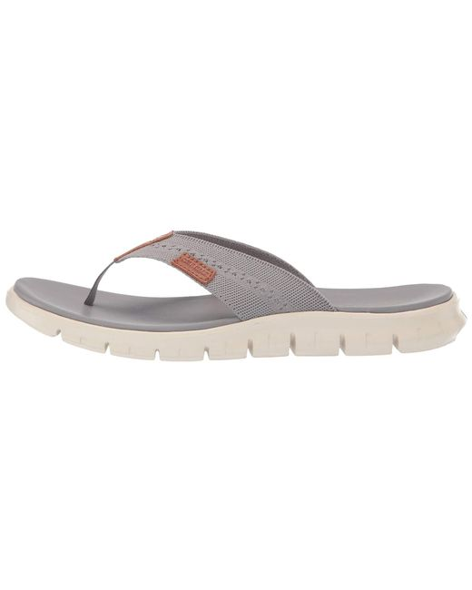 e6e584fb1bdf ... Cole Haan - Multicolor Zerogrand Stitchlite Thong Sandal for Men - Lyst  ...