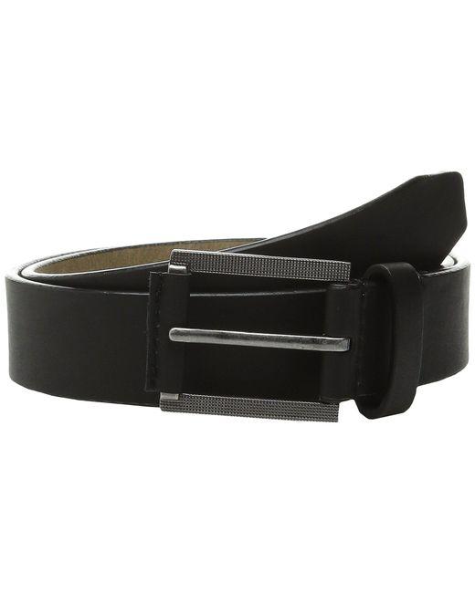 Steve Madden - Black 35mm Classic Belt for Men - Lyst